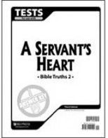 Bible Truths 2: A Servant's Heart Tests Answer Key
