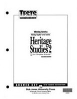 Heritage Studies 2 Tests Answer Key(2nd ed.)