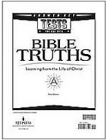 Bible Truths A Testpack Answer Key (3rd ed.)