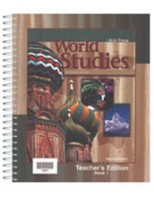 World Studies Teacher's Edition (2nd ed.) (2 volumes)