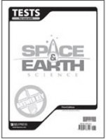 Space and Earth Science Testpack Answer Key (3rd ed.)