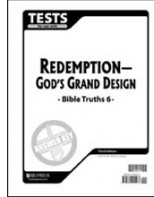 Bible Truths 6 Tests Answer Key (3rd ed.)