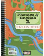 Phonics and English 1 Teacher's Edition & Toolkit CD (3rd ed.)