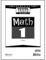 Math 1 Tests Answer Key (3rd ed.)