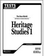 Heritage Studies 1 Tests (tests only; for 1 student) (2ND)
