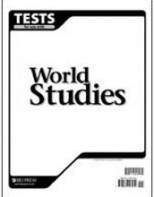 World Studies Tests (tests only; for 1 student)