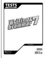 Writing & Grammar 7 Tests (3rd ed.)