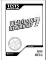 Writing and Grammar 7 Tests Answer Key (3rd ed.)