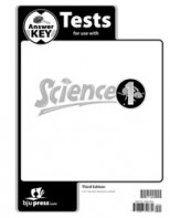 Science 1 Tests Answer Key (3rd ed.)