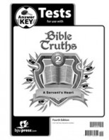 Bible Truths 2 Tests Answer Key (4th ed.)