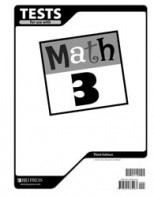 Math 3 Tests (3rd ed.)
