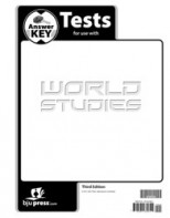 World Studies Tests Answer Key (3rd ed.)