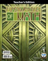 Fundamentals of Math Teacher's Edition with CD (2nd ed.)