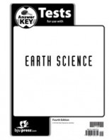 Earth Science Tests Answer Key (4th ed.)