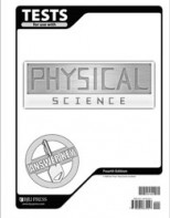 Physical Science Tests Answer Key (4th ed.)
