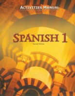 Spanish 1 Activities Manual (2nd)