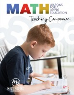 Math Lessons for a Living Education: Teaching Companion